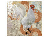 White Rooster Art