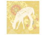 Aprils Flower Fawn Prints