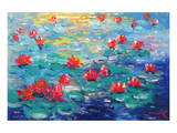 Waterlilies IV Prints