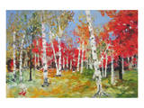Autumn Impression Prints
