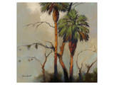 Stricktly Palms 10 Print by Kurt Novak