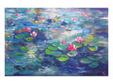 Waterlilies II Prints