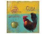 Cuba 01 Poster by Kurt Novak