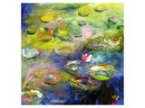 Waterlilies V Prints