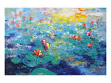 Waterlilies III Art
