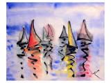 Sailng Boats Prints