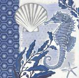 Fanciful Seahorse 1 Poster by Norman Wyatt Jr.