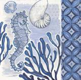 Fanciful Seahorse 2 Prints by Norman Wyatt Jr.