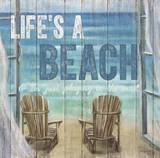 Life's A Beach Prints by Sam Appleman