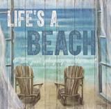 Life's A Beach Prints by Sam Appleman