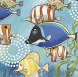 Underwater Story Detail 1 Print by Norman Wyatt Jr.