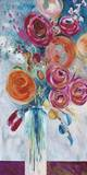 Joyful Blooms Print by Jurgen Gottschlag