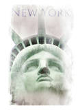 Face Of Liberty Poster