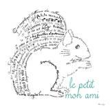 Le Petit Mon Ami Squirrel Poster by Marion De Lauzun