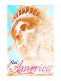 Visit America Poster