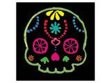 Sugar Skull Velvet IV Prints by Rosa Mesa