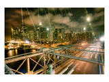Brooklyn Bridge NewYork Skyline Prints