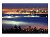 Vancouver with Evening Fog Prints