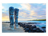 Sentinels of the Big Island Hawaii Print