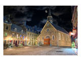 Christmas-Place-Royale Quebec Prints