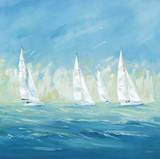 Perfect Day for a Regatta Posters av Naula Whales