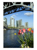 Vancouver from GranvilleIsland Print
