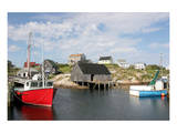 Fishing Boat in Peggy's Cove Posters