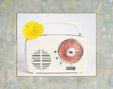 Back In Time White Radio_border Posters by  Susannah Tucker Photography