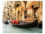 Traditional Venice gondola Posters