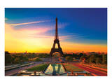 Paris at Dawn II Prints