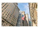 Our Flag Over Wall St. Prints