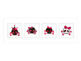 Sugar Skulls Box of 4 Prints by Rosa Mesa