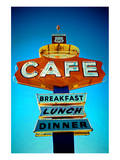 Cafe Route 66 Poster