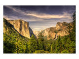 Yosemite Valley at Tunnel View Prints