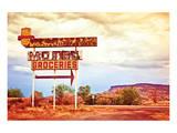 Motel Route 66 Art