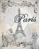 My Paris 1 Prints by Tina Epps