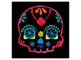 Sugar Skull Velvet III Prints by Rosa Mesa