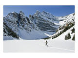 Snowshoeing in Banff Natl Park Posters