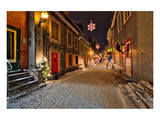 Old town of Quebec City Canada Prints