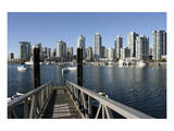 Vancouver from GranvilleIsland Prints
