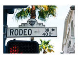 Rodeo Drive Hollywood Print