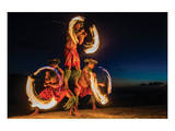 Fire Dance Print