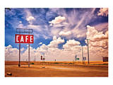 Cafe US 66 HDR Posters