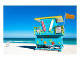 Lifeguard Tower South Beach Print