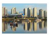 Vancouver Skyline &False Creek Posters