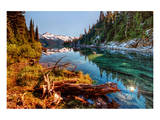 Mountain Lake Inlet and Shores Prints