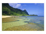 Tunnels Beach Kauai Hawaii Prints