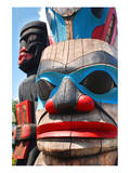 Totem Poles Pacific Northwest Art