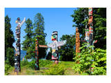 Totems Stanley Park Vancouver Posters