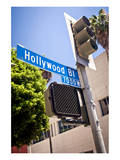 Hollywood Boulevard Sign Poster